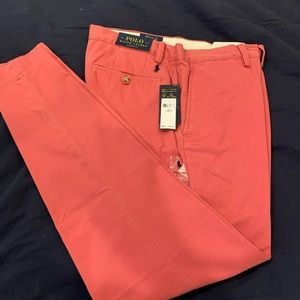 Polo Classic Red Chinos